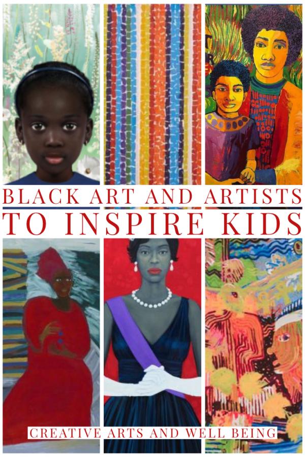 Black Art & Artists to Inspire Kids