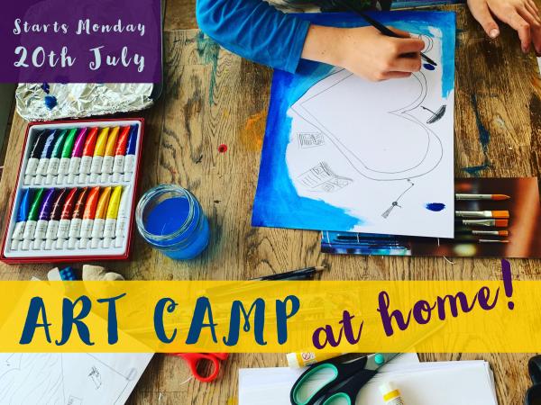 Art Camp – at home!