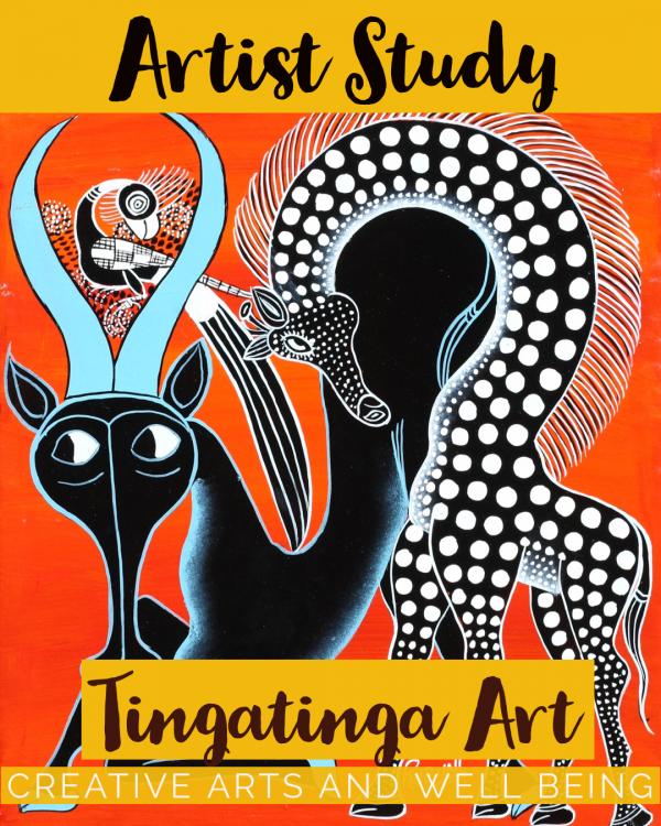 Artist Study – How to Make Edward Saidi Tingatinga Art
