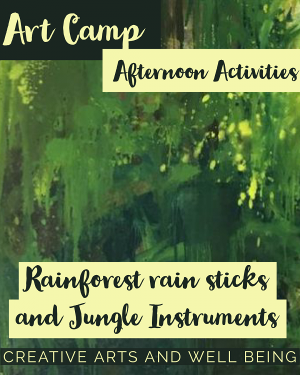 Jungle – How to Make Animal Rain Sticks and other Instruments