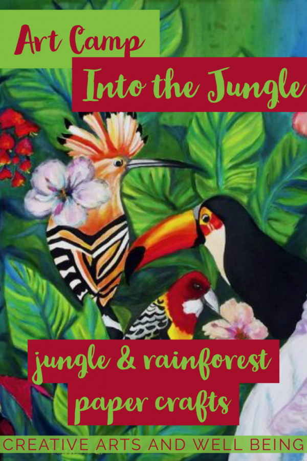 Into the Jungle – Five Ways to Make Brilliant Paper Animals