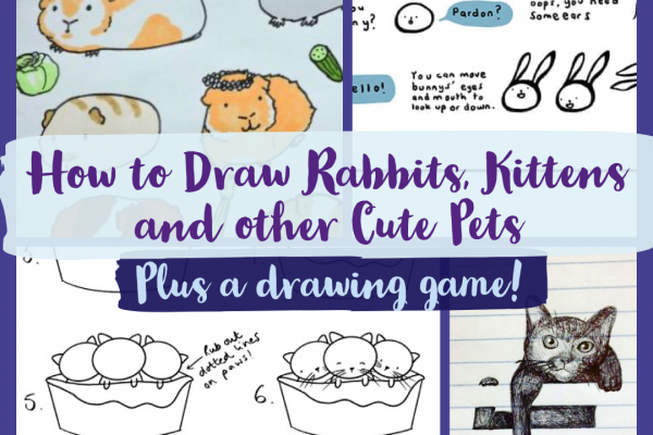 How to Draw Rabbits, Kittens and More Cute Pets