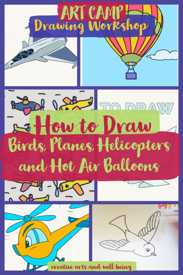 How to Draw Amazing Airplanes, Helicopters, Kites & Birds