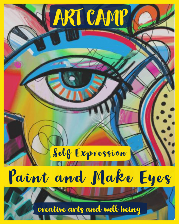 Self Expression – How to Make Art with Eyes