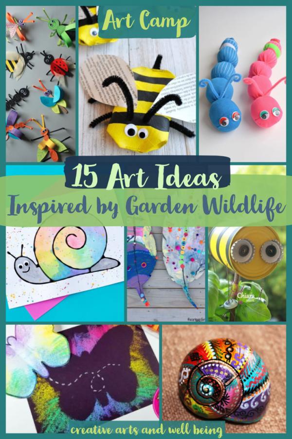 15 Ideas to Make Art Inspired by Garden Wildlife
