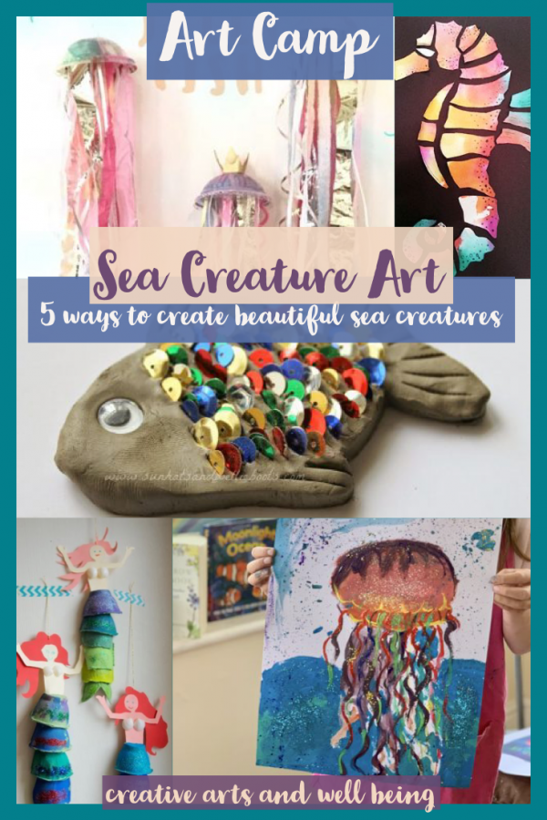 Amazing Oceans – How to Make Sea Creature Art
