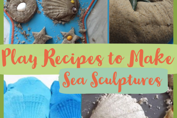 Amazing Oceans – Play Recipes to Make Sea Sculptures