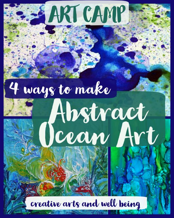 Amazing Oceans – How to Make an Abstract Ocean Picture
