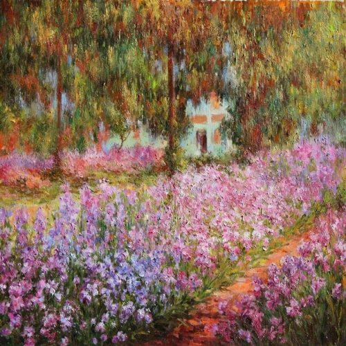 The Garden - Claude Monet