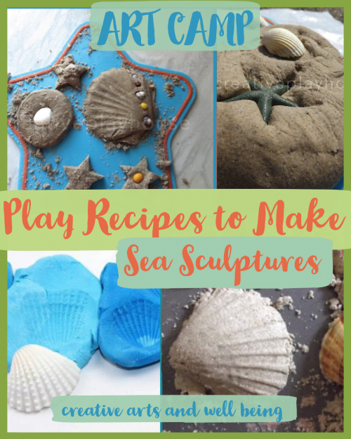 Play recipes to make sea sculptures