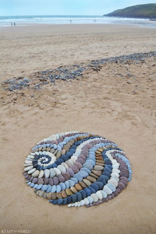 Beach Art from Sculpt the World