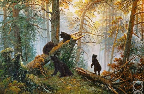 Ivan Shiskin - Morning in a Pine