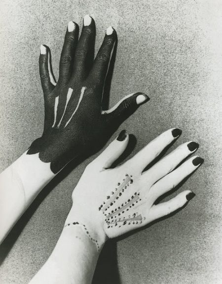 Man Ray - Hands Painted