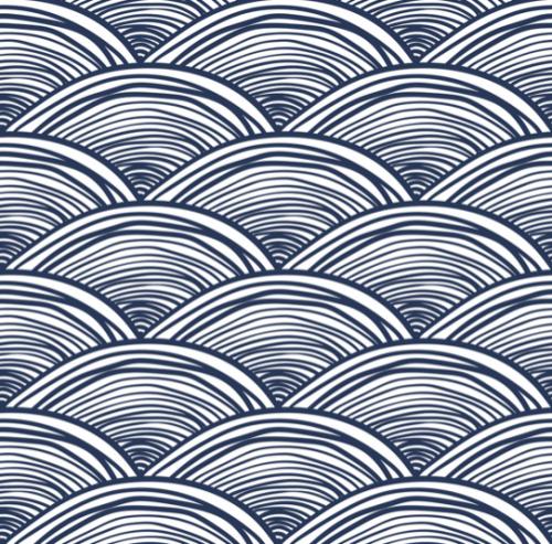Simple Semi Circle Waves