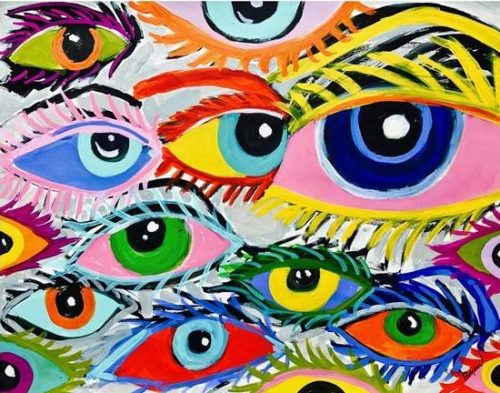 Wall-Posters-And-Prints-Colorful-Abstract-Eyes-Painting-Wall-Art-Canvas-Painting-Wall-Pictures-For-Living_grande