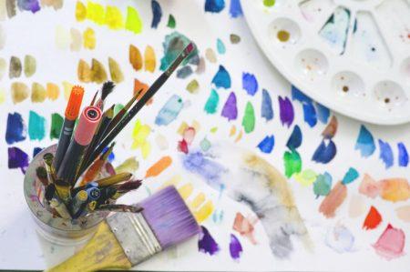 art journal materials