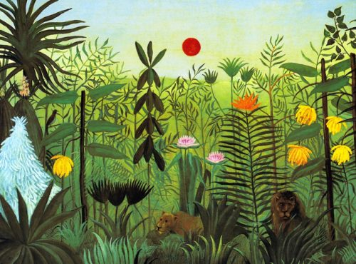 jungle - henri rousseau