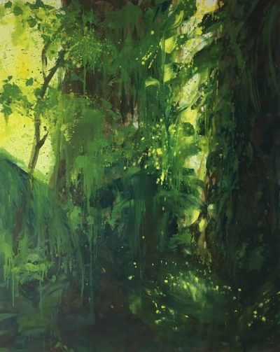 rain forest abstract