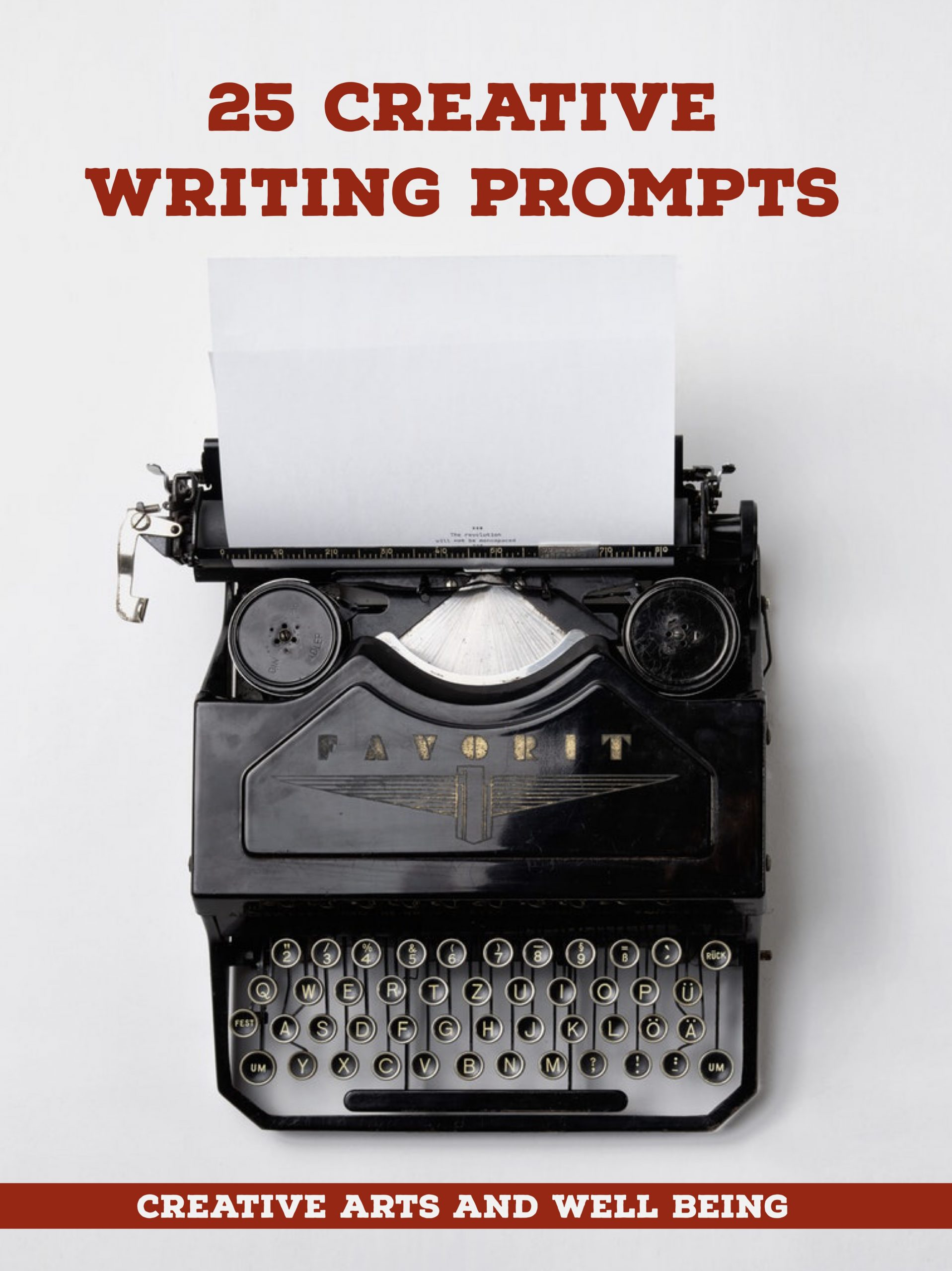 25 Creative Writing Prompts
