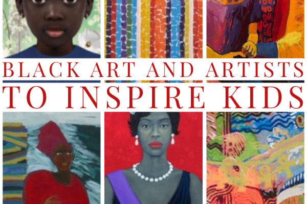 Black Art & Artists to Inspire Kids