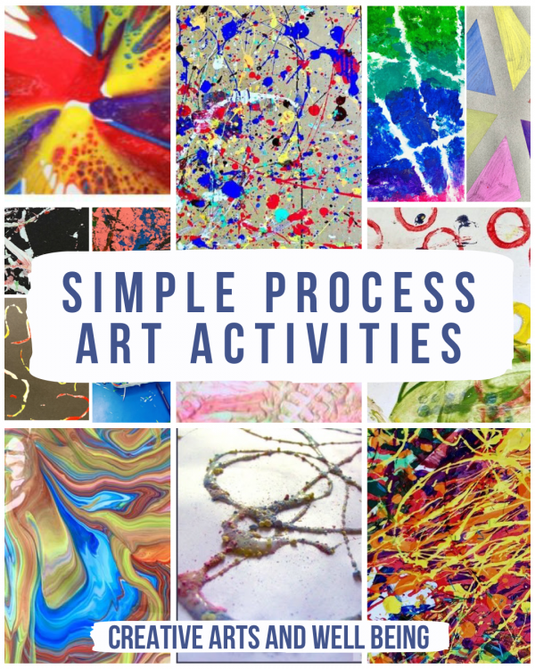 Simple Process Art Activities