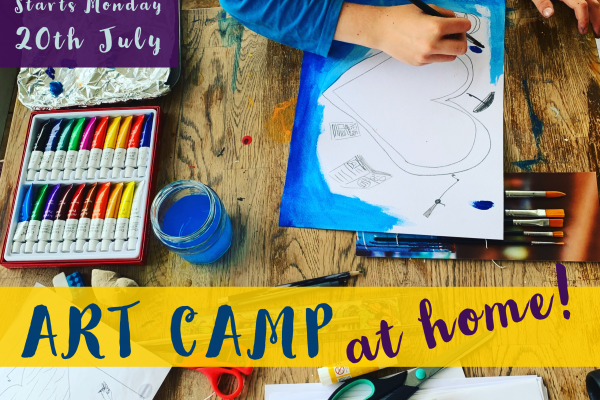 Art Camp – at home!