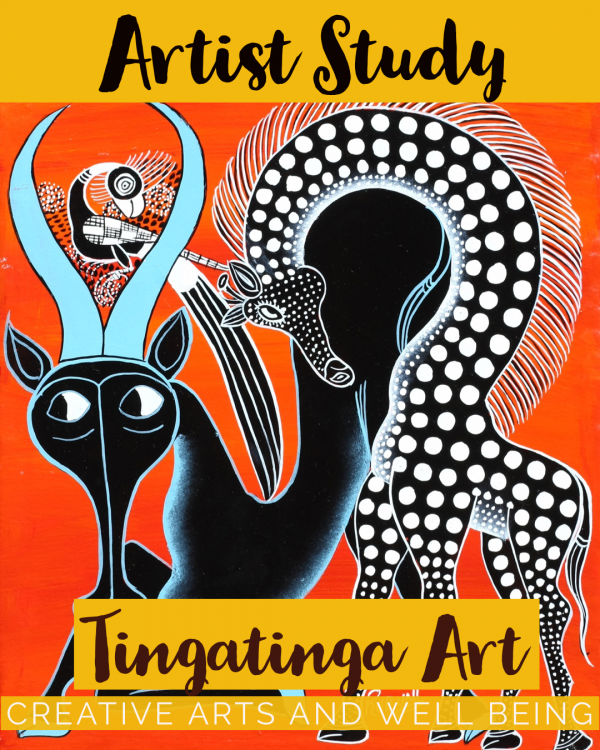 Artist Study – How to Make Edward Saidi Tingatinga Art