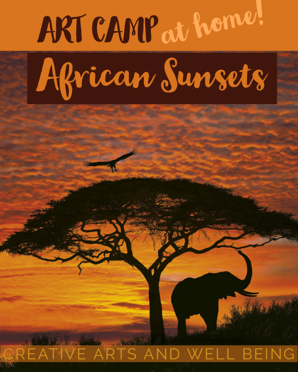 African Animals – How to Make an African Silhouette Sunset Picture