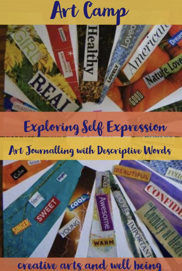 Self Portraits – How to Use Words in Self Portraits