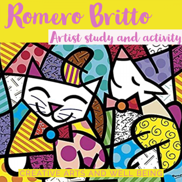 Artist Study – How to Make Art like Romero Britto