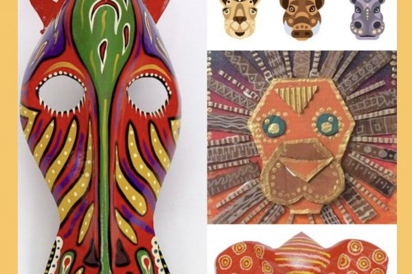 African Animals – How to Make African Animal Masks