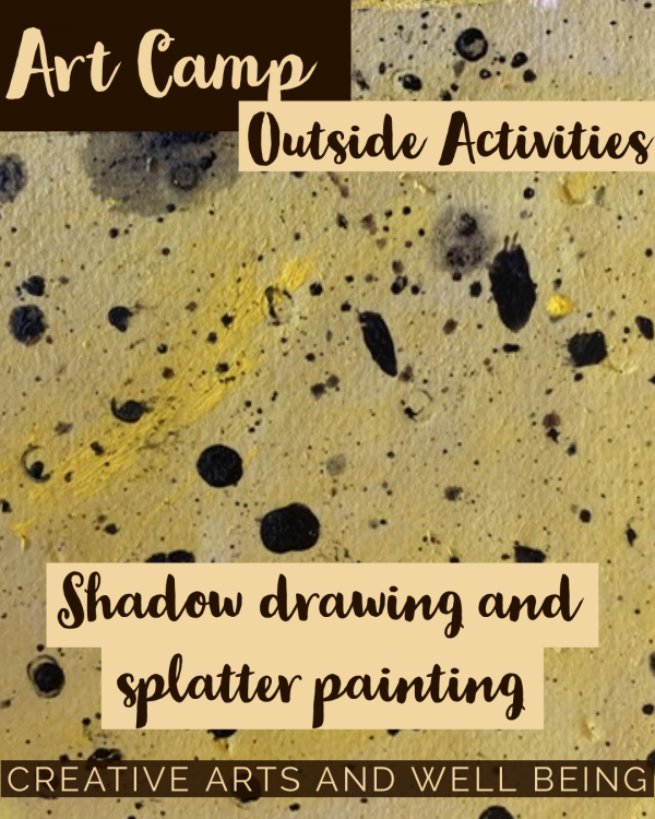 African Animals – How to Make Animal Print Splatter Art