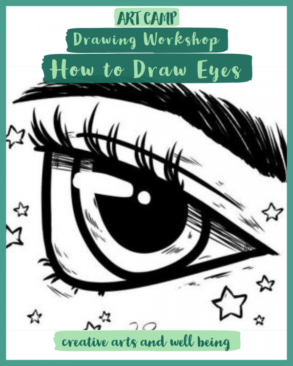 Self Portraits – Drawing Workshop – How to Draw Amazing Eyes