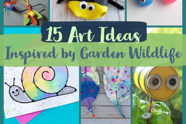 15 Ideas to Make Art Inspired by Garden Wildlife