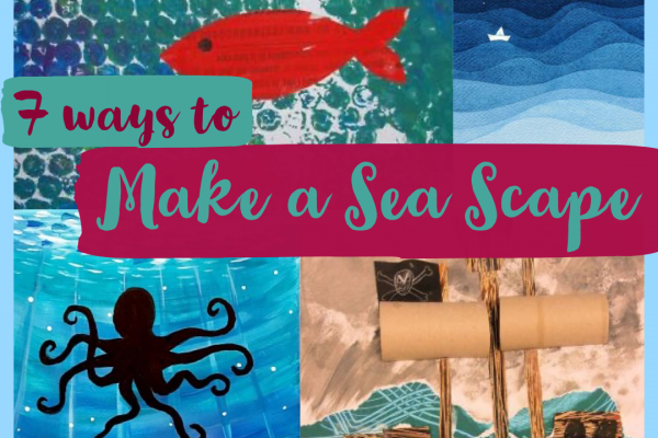 Amazing Oceans – Seven Ways to Make a Sea Scape