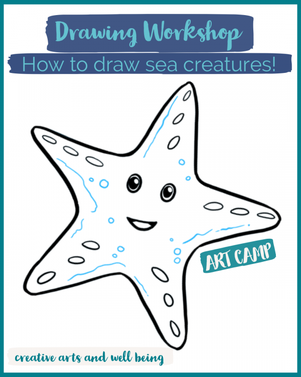 Amazing Oceans – Drawing Workshop – How to Draw Sea Creatures