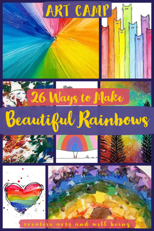 How to Make Beautiful Rainbow Art – 26 Ideas