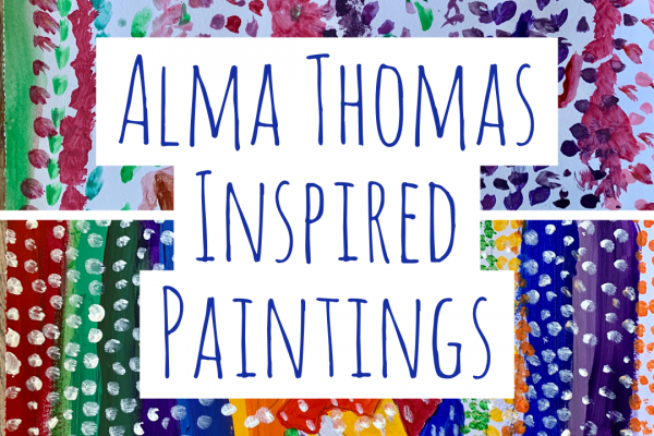 Mindful Art: Alma Thomas Inspired Paintings