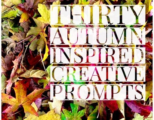 Autumn Inspired Creative Prompts