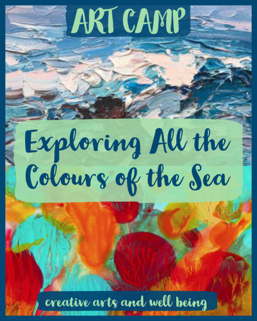 How to explore the colours of the sea