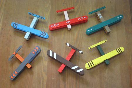 Craft Stick Airplanes