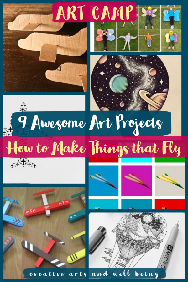 awesome art projects flying