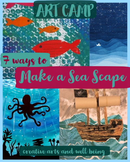 7 ways to make a sea scape
