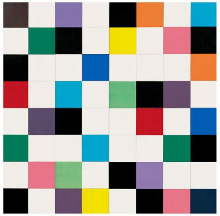 Ellsworth Kelly - Colours for a Large Wall