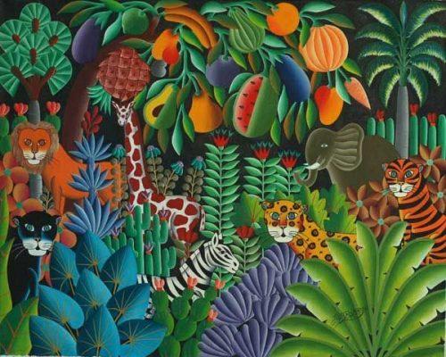 Henri Rousseau Jungle