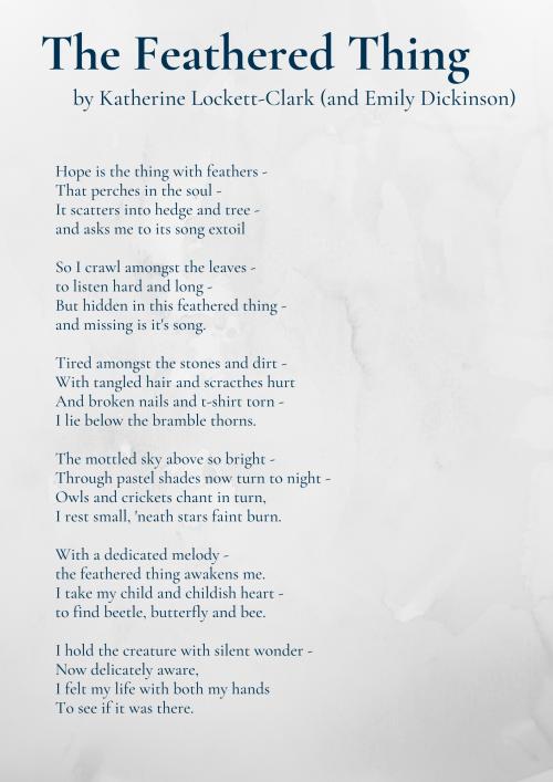 The Feathered Thing - Katherine Lockett-Clark