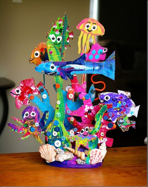 Sea Creature Sculpture